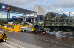 Choque de Guardia Nacional en Caseta de Panindícuaro