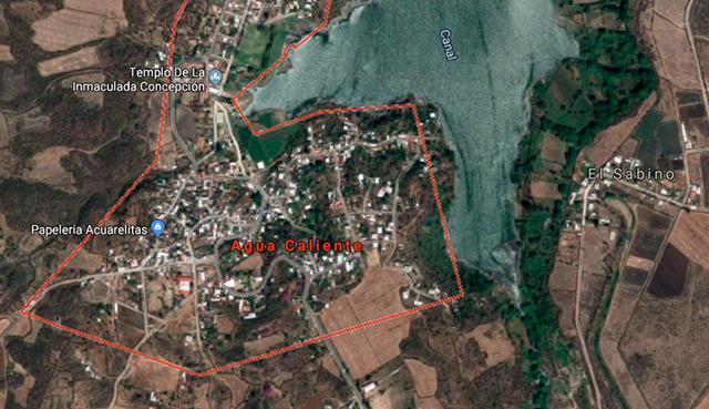 Agua Caliente, municipio de Angamacutiro