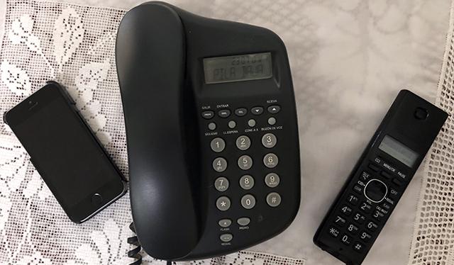 marcación telefónica