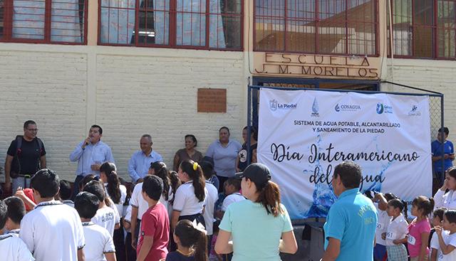 Día Interamericano del Agua SAPAS La Piedad