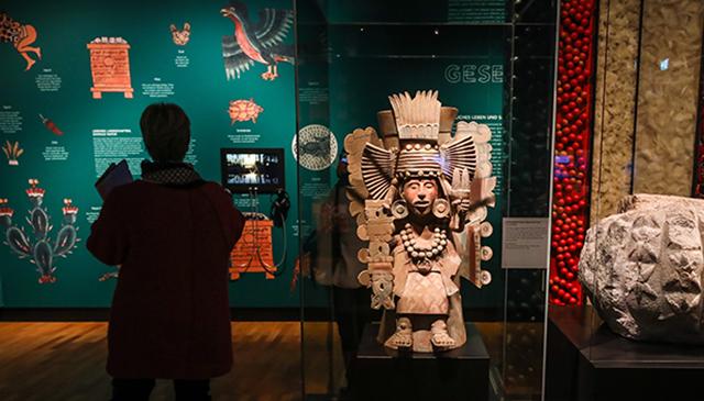 Azteca exposición Alemania