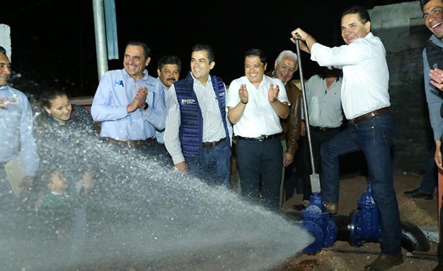 red de agua Numarán Silvano
