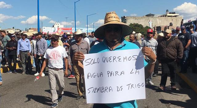 agricultores manifestaciones