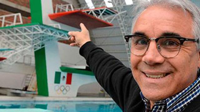 Clavadista Carlos Girón