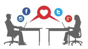 pareja redes sociales