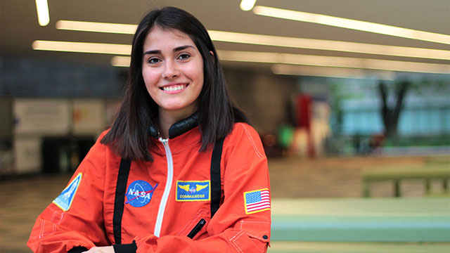 piedadense estefania NASA