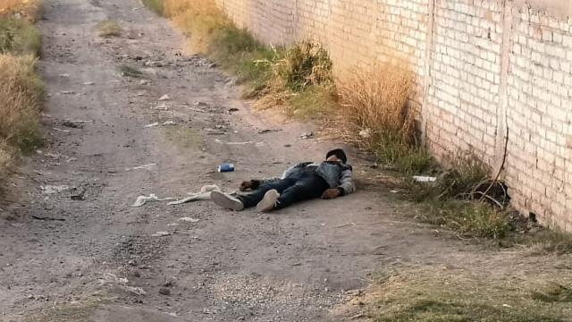 homicidio Pénjamo colonia Lázaro Cárdenas