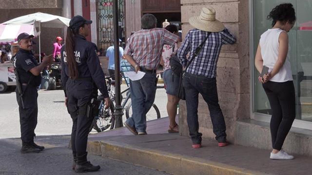 Sana Distancia Policía de La Piedad