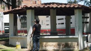 Parque Morelos mantenimiento