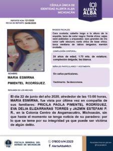 Mujeres Desaparecidas Angamacutiro a