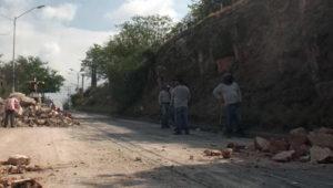 derrumbe Avenida Michoacán