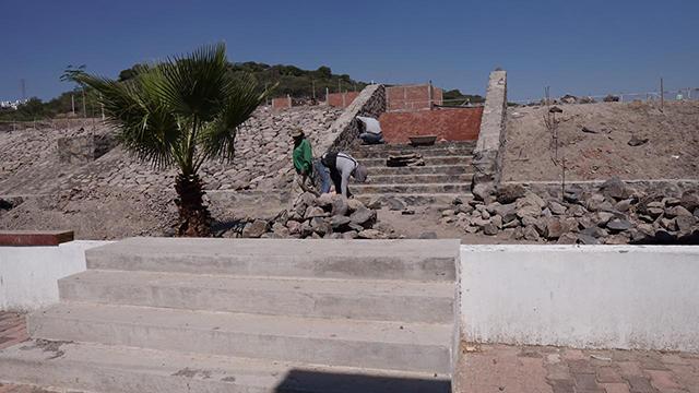 muro contención Secundaria 140