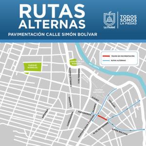 calles cerradas centro La Piedad 3