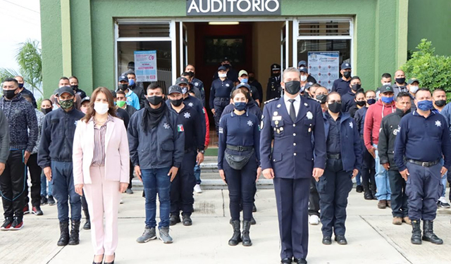 Curso de Formación Policía Preventivo Municipal IEESSPP