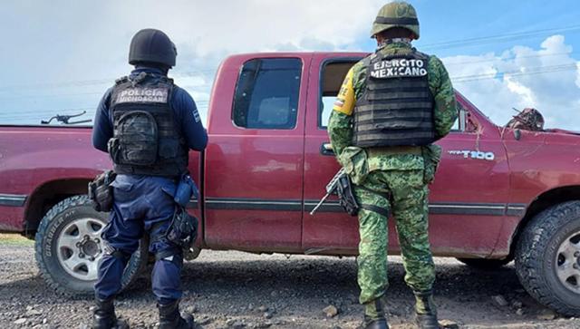 Yurécuaro vehículos robados