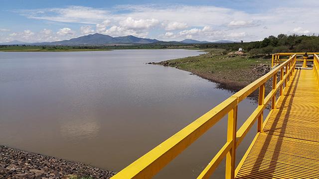 riego Presa de Ticuítaco La Piedad