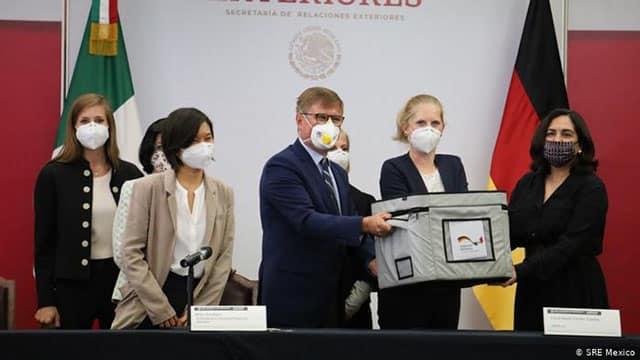 Alemania Mexico COVID pruebas