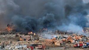 Beirut Líbano Explosión 1