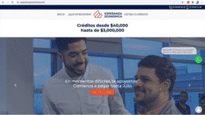 Esperanza Económica web