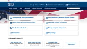IRS Impuestos Estados Unidos