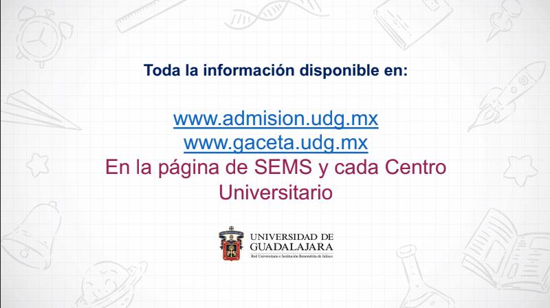 examen de admisión UdeG