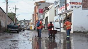 lluvia INFONAVIT Miguel Silva