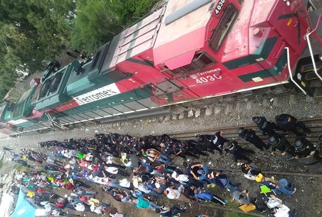 vías CNTE Yurécuaro