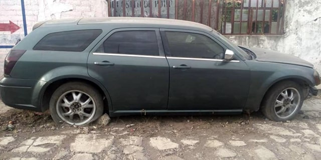 Angamacutiro auto robado