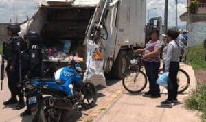 Basura Camión Recolector Santa Ana