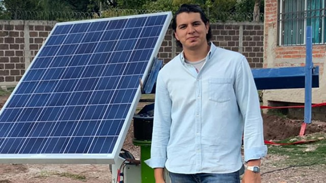 panel solar inteligente