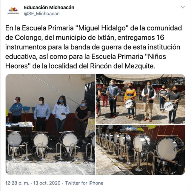 instrumentos El Colongo Ixtlán