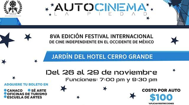MIAX cine independiente La Piedad