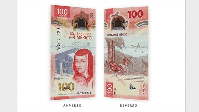 Billete $100 pesos
