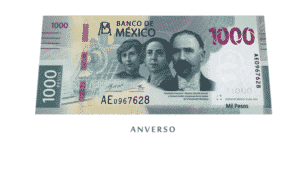 Billete 1000 pesos 1
