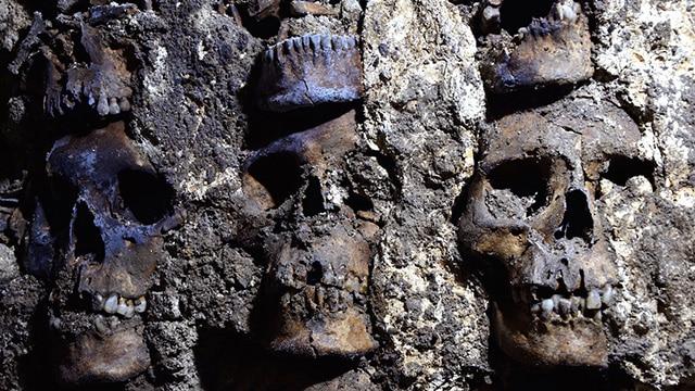 Tzompantli de Tenochtitlan 3