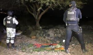 campamento narco La Piedad 3
