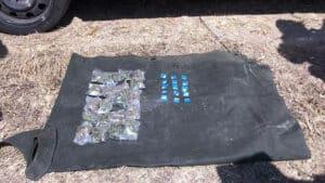 Tanhuato auto robado droga 2