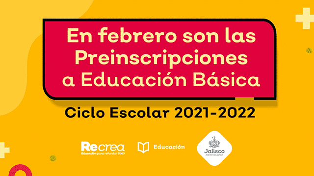 preinscripciones educación básica Jalisco