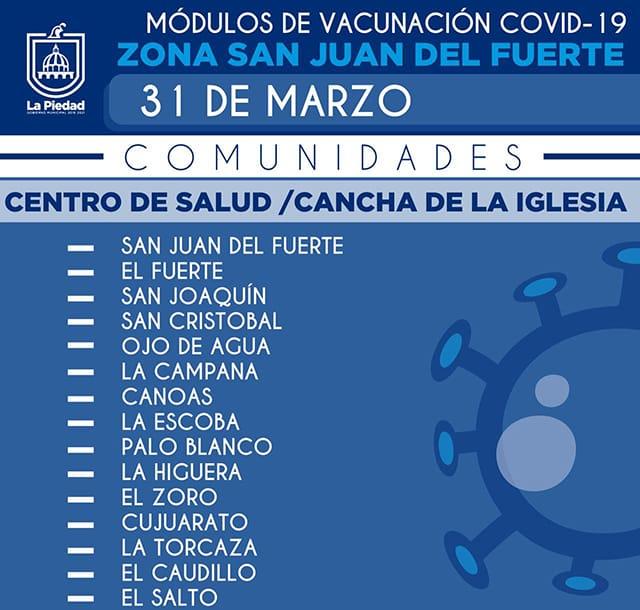 vacuna San Juan del Fuerte