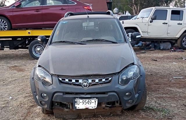 Pátzcaro vehículos robados 1
