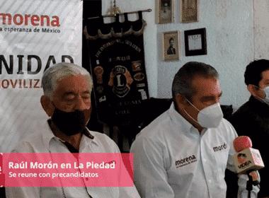 Raúl Morón en La Piedad