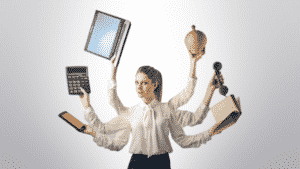 mujeres multitask