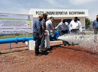 pozo Unidad Bicentenario SAPAS 1
