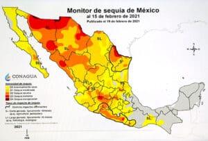 sequía CONAGUA