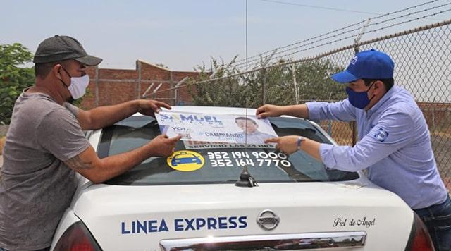taxistas Samuel Hidalgo 1