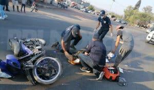 atropellado motociclista