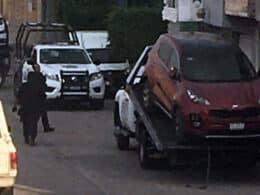 camioneta SUV robada en La Piedad recuperada en Santa Ana
