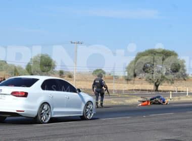 Aratzipu motociclista homicidio