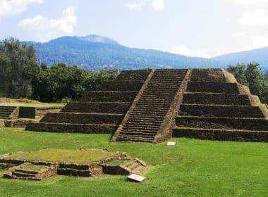 Zona Arqueológica de Tingambato, Edo-Michoacán. Foto INAH-Medios.