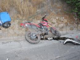 choque moto auto av. michoacan